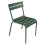 Zederngrün Stuhl Luxembourg ohne Armlehne Fermob